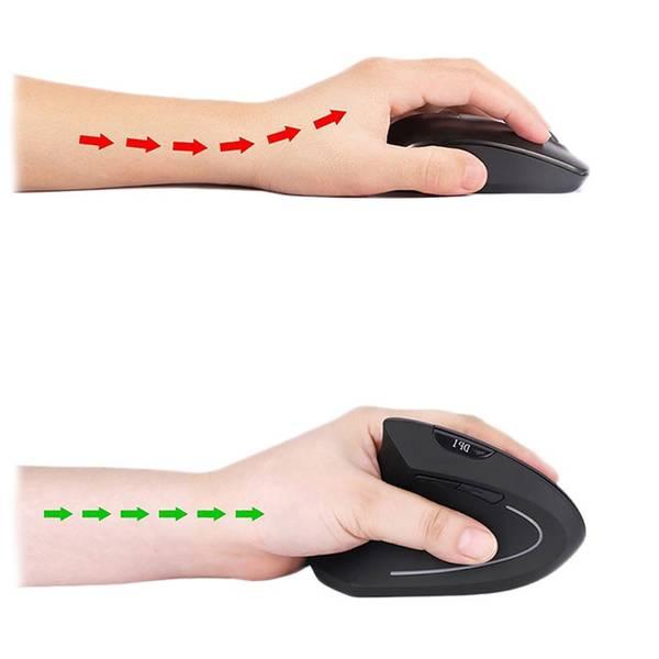 souris ergonomique laser sans fil hp 2 4 ghz